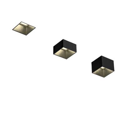 Recessed Spotlight-Move It 45 Square