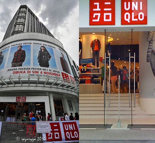 Uniqlo Boutiques in Malaysia and Thailand